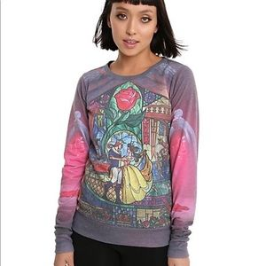 Disney Beauty and the Beast Pullover